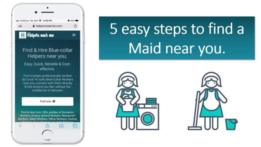 5 easy steps to find Maid