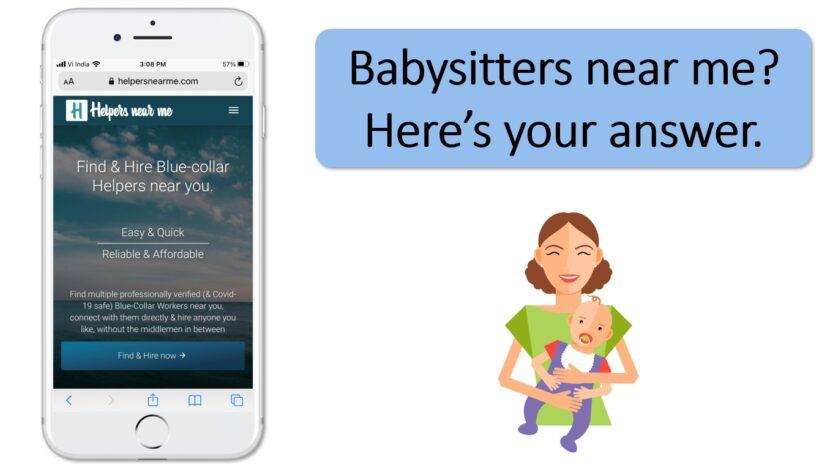 Babysitters near me