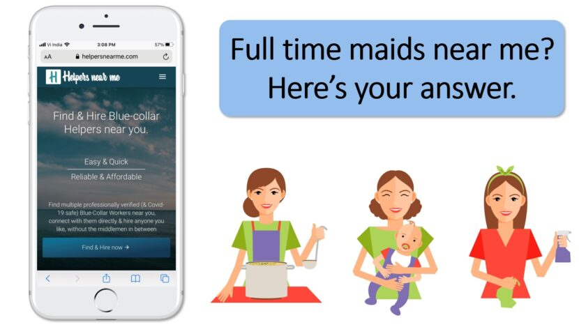 Full time maids near me